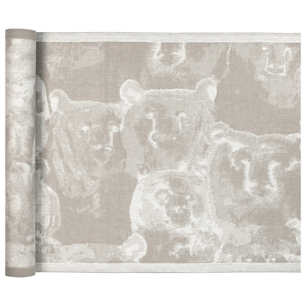 Podložka do sauny Otso 46x150, ľan-biela