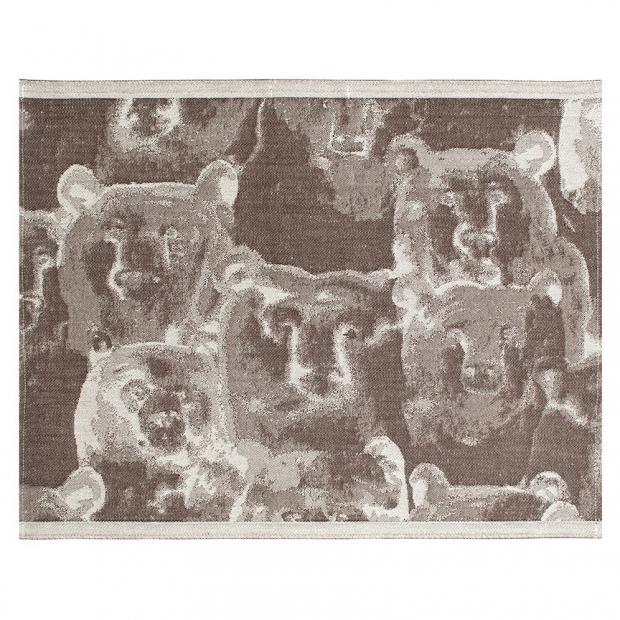 Podložka do sauny Otso 46x60, ľan-hnedá
