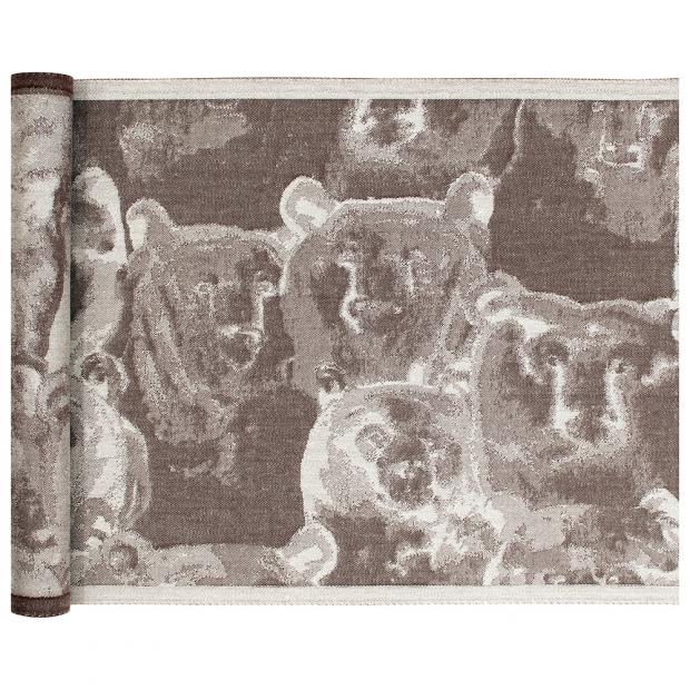 Podložka do sauny Otso 46x150, len-hnědá