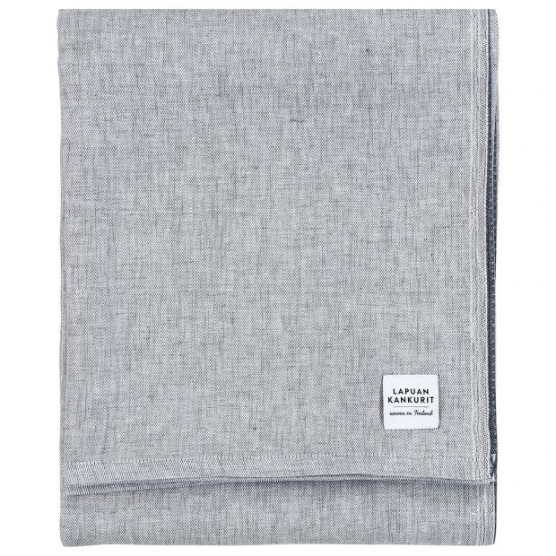 Lněný ubrus Aamu 150x260, šedý