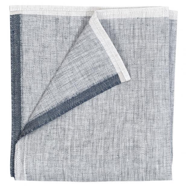 Ľanový obrúsok Aamu 48x48, sivý