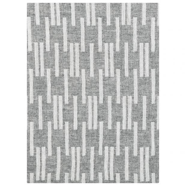 Merino deka Arki 130x180, svetlo sivá-biela