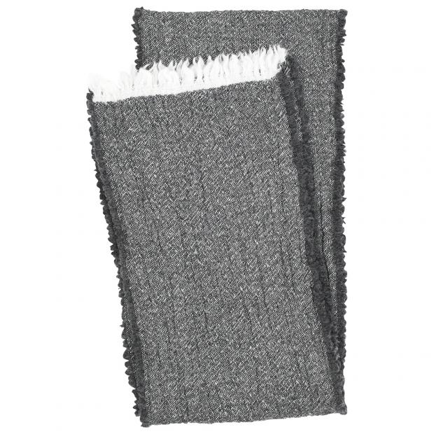 Merino šál Kota, tmavě šedý