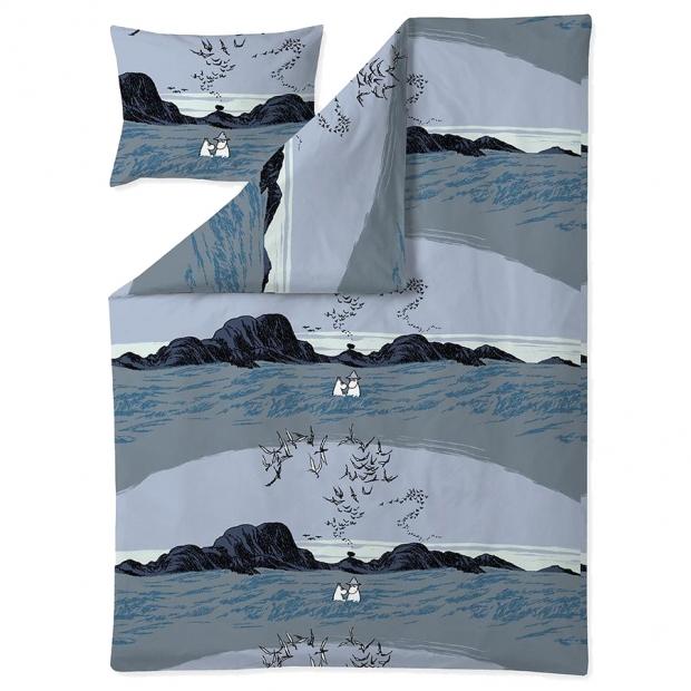 Obliečky Moomin Nummimuumi 150x210, modré