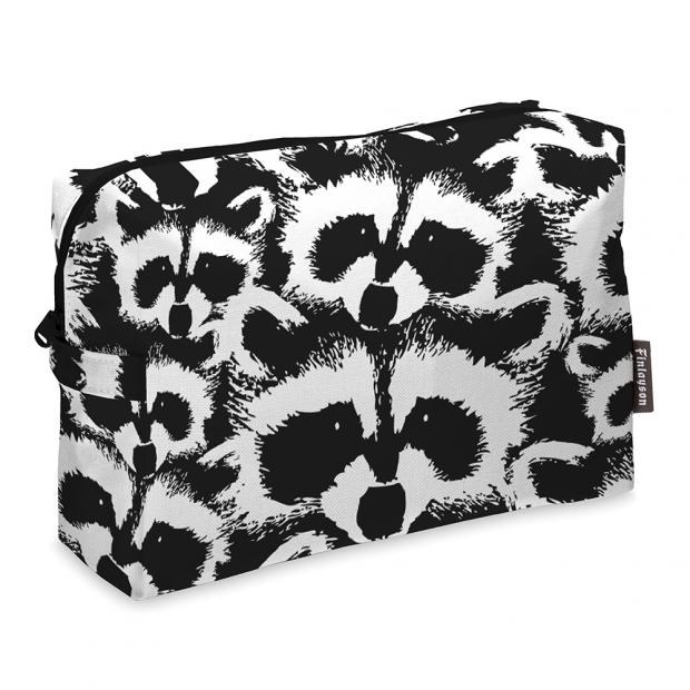 Kosmetická taška Pesue, černo-bílá