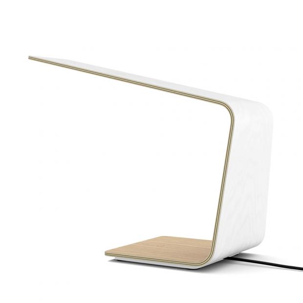 Stolní lampa LED1, bílá