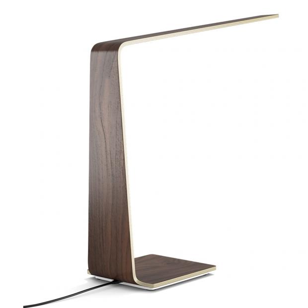 Stolná lampa LED8, orech
