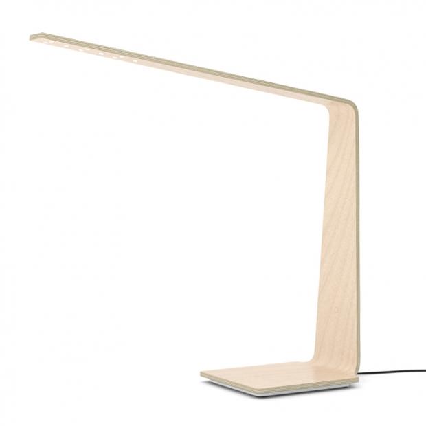 Stolní lampa LED8 Qi, bříza