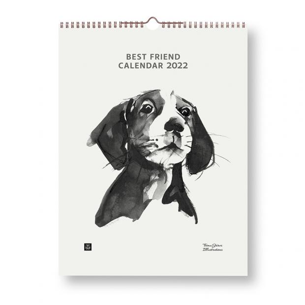 Kalendář 2022 Best Friend 30x40