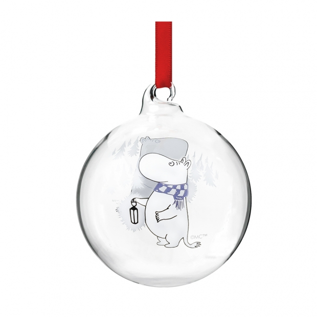 Vánoční ozdoba Moomin 7cm