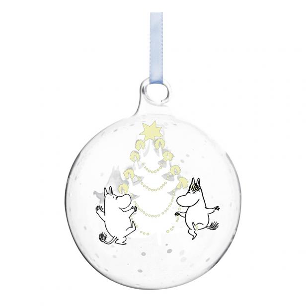 Vánoční ozdoba Moomin Christmas tree 9cm