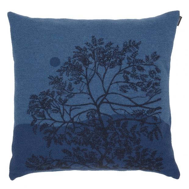 Povlak na polštář Puu Kuutamossa 50x50, modrý
