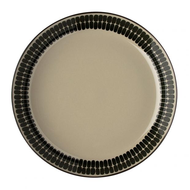 Hlboký tanier Oiva Alku 20,5cm, zelený