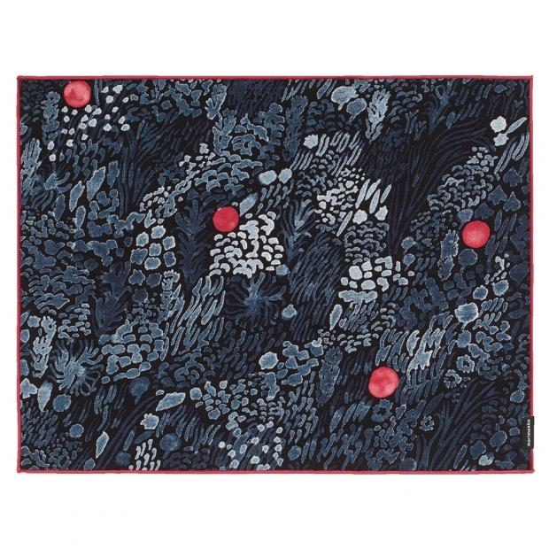 Set prostírání Kurjenmarja 47x36, 6ks / modro-červené