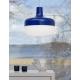 Závěsná lampa Korona, modrá