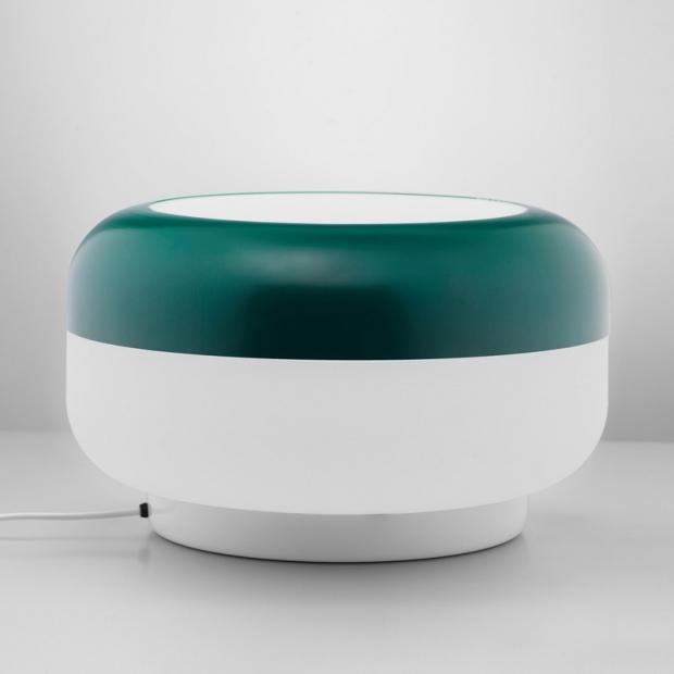 Stolní lampa Korona, zelená