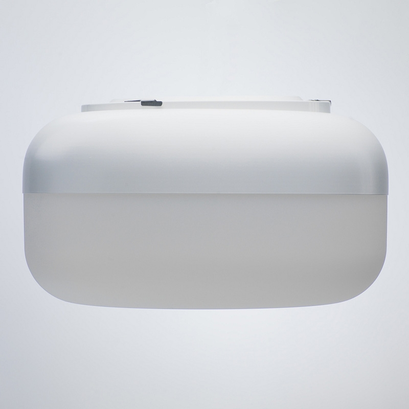 Nástěnná lampa Korona, bílá