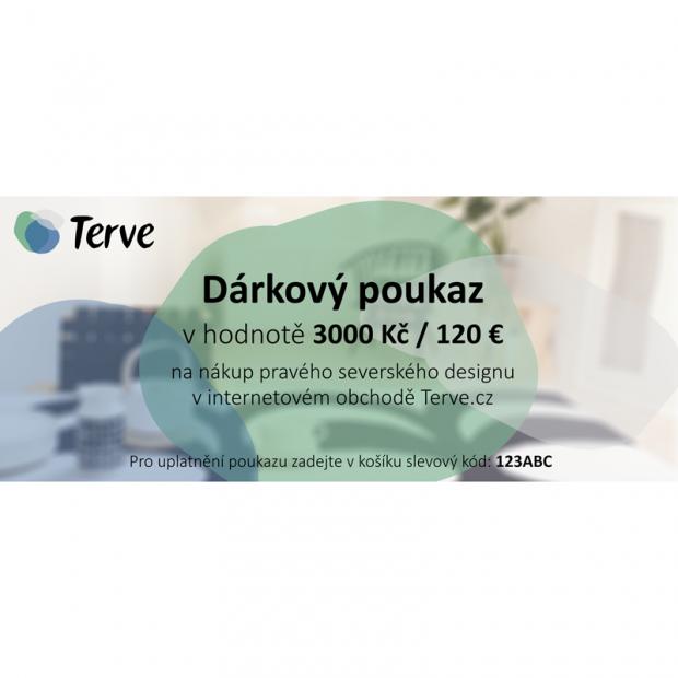 Darčekový poukaz na 120 €
