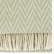 Vlněná deka Iida 130x200, světle zelená