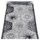 Behúň Ruut 48x150, čierno-biely