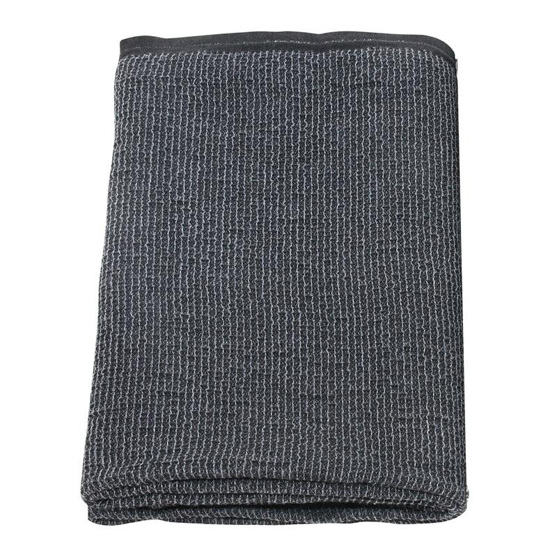 Osuška Terva 85x180, tmavě šedá