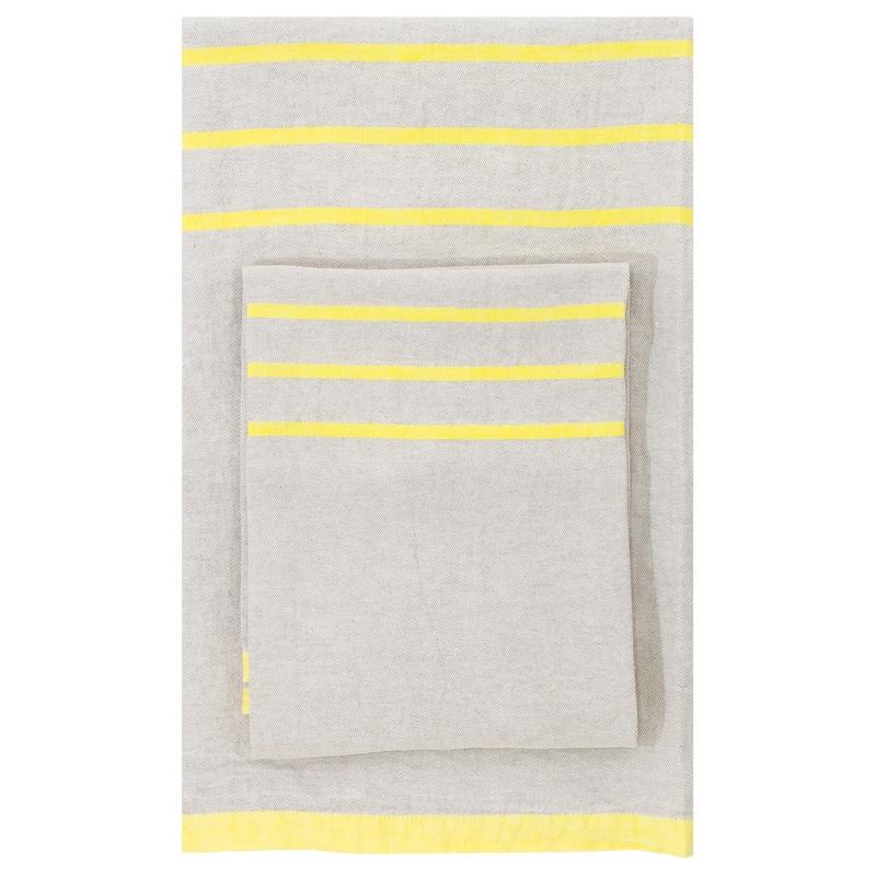Osuška Usva 95x180, len-žlutá