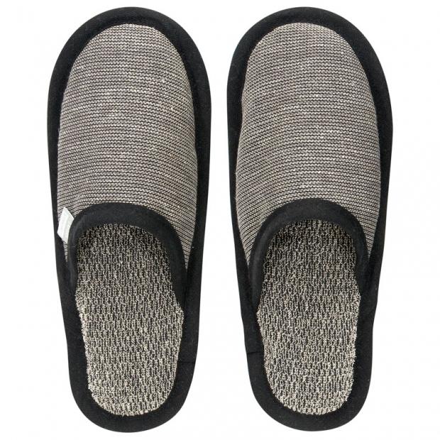 Papuče do sauny Onni S, sivé