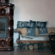 Podložka do sauny Miesten 46x60, šedá