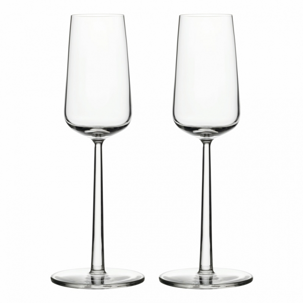 Poháre na šampaňské Essence 0,21l, 2ks