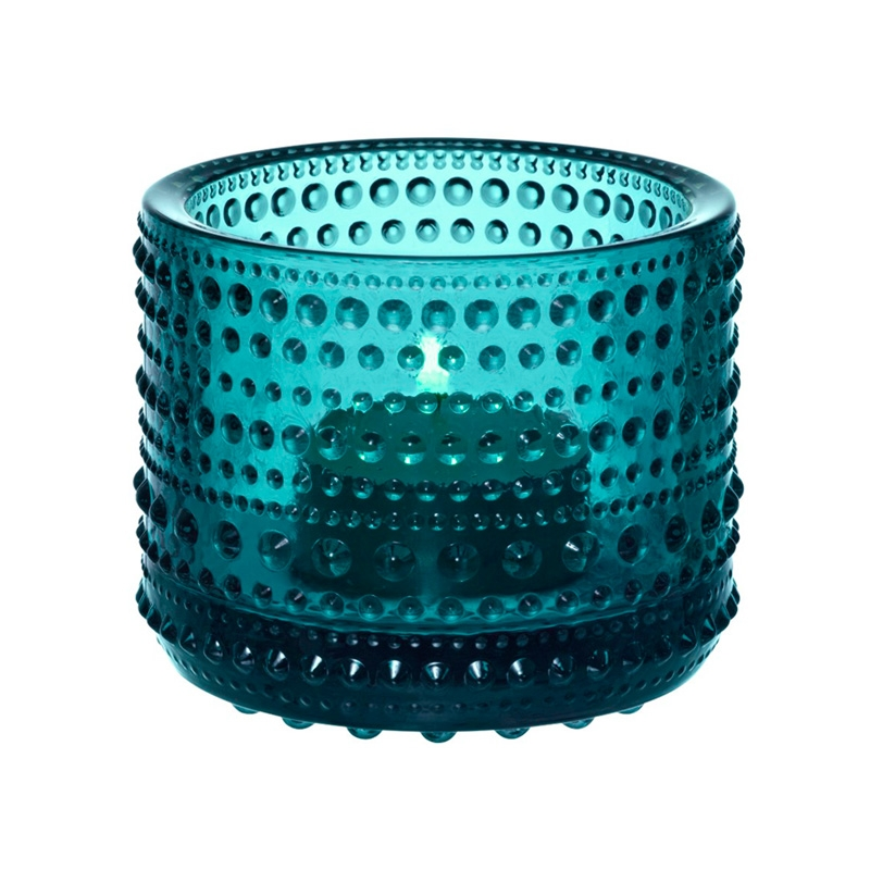 Svícen Kastehelmi, modrý seablue