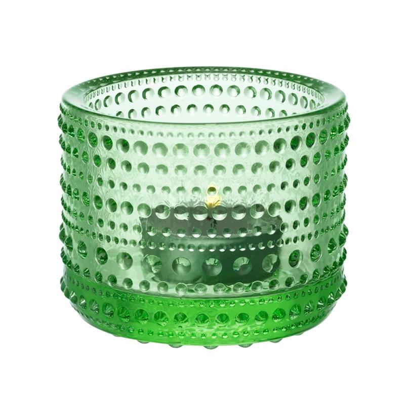 Svícen Kastehelmi, světle zelený