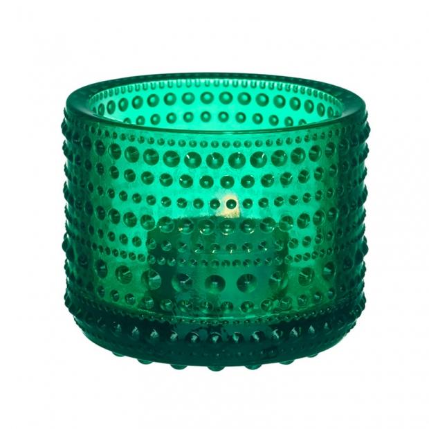 Svícen Kastehelmi, smaragdový