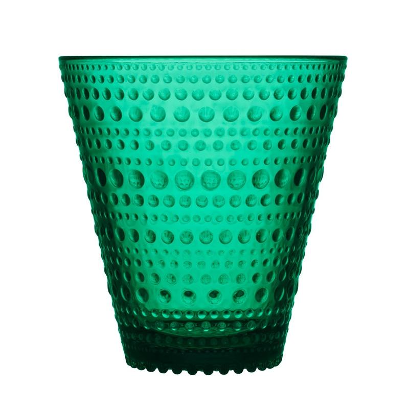 Poháre Kastehelmi 0,3l, 2ks, smaragdové