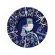 Šálka s podšálkou Taika 0,2l, modrá