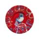 Šálka s podšálkou Taika 0,2l, červená