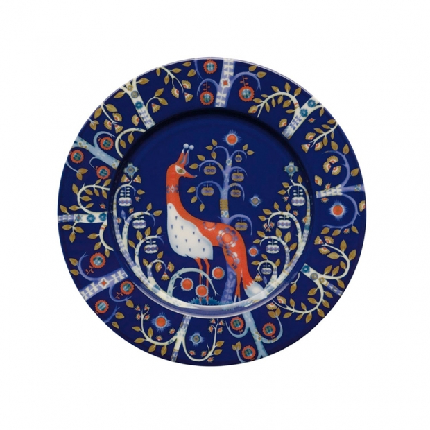 Talíř Taika 22cm, modrý