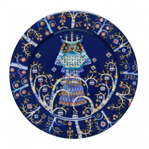 Talíř Taika 27cm, modrý