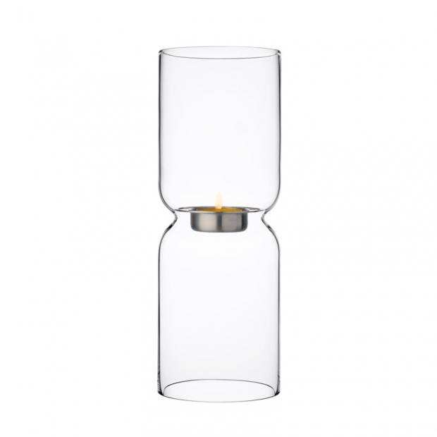 Svícen Lantern, 25cm, čirý