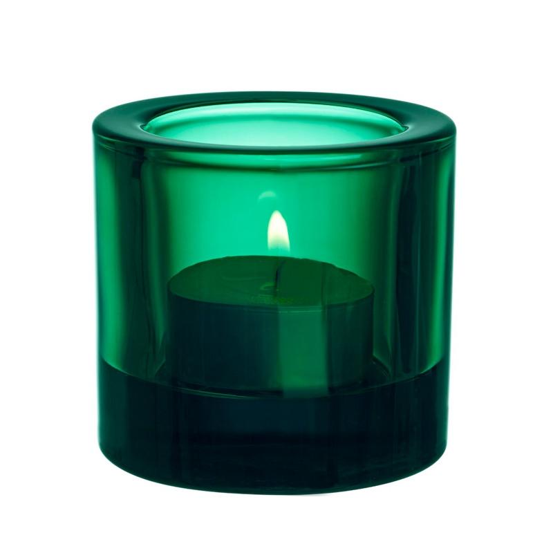 Svícen Kivi, smaragdový