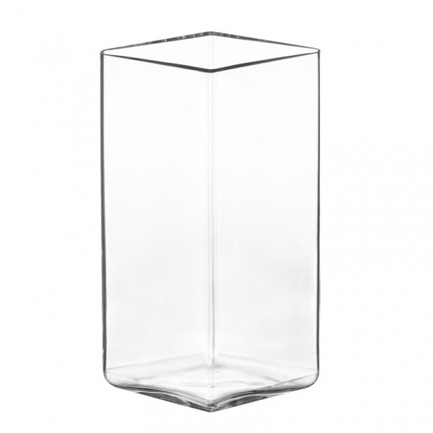 Váza Ruutu 11,5x18, čirá