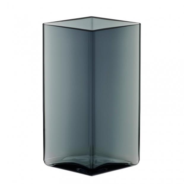 Váza Ruutu 11,5x18, šedá
