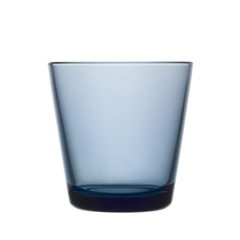 Sklenice Kartio 0,21l, 2ks, modré rain