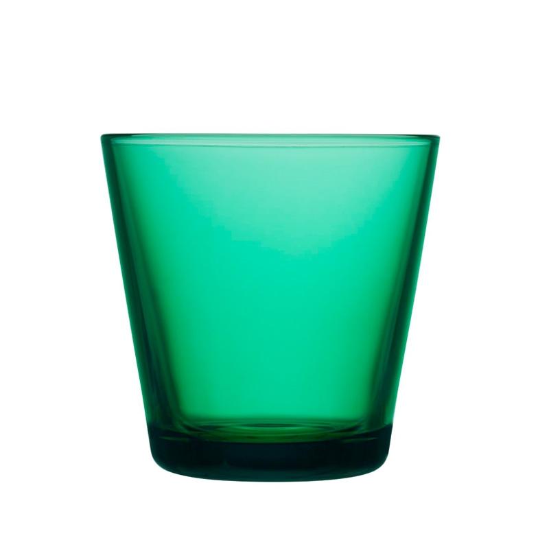 Sklenice Kartio 0,21l, 2ks, smaragdové