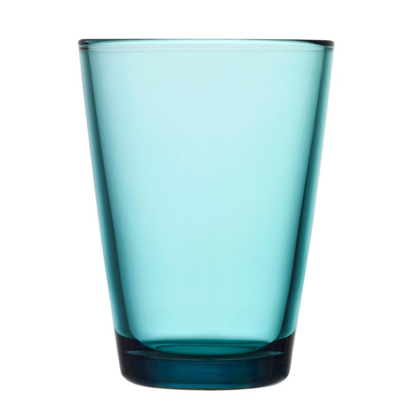 Sklenice Kartio 0,4l, 2ks, modré seablue