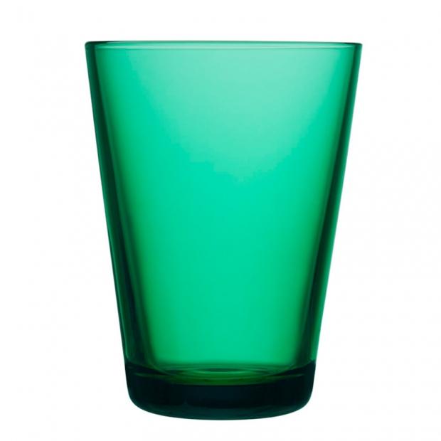Sklenice Kartio 0,4l, 2ks, smaragdové