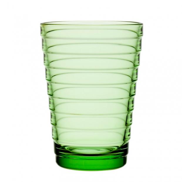 Poháre Aino Aalto 0,33l, 2ks, svetlo zelené