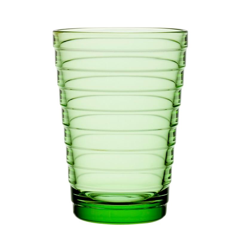 Sklenice Aino Aalto 0,33l, 2ks, světle zelené