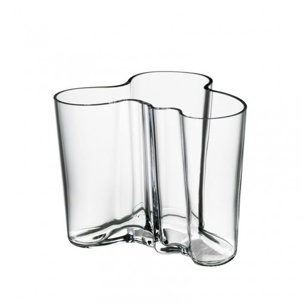 Alvar Aalto váza 120mm, číra