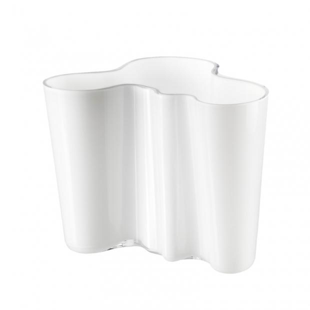 Alvar Aalto váza 160mm, biela