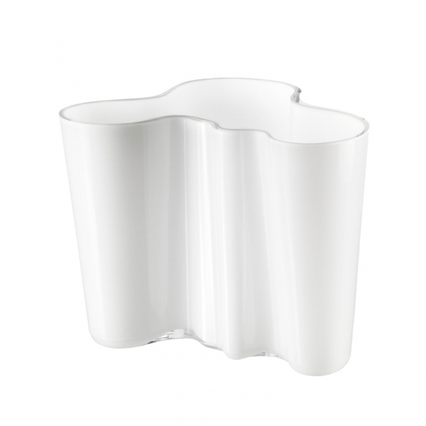 Váza Alvar Aalto 160mm, bílá